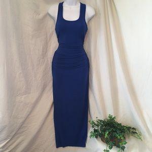 VENUS Ruched Tank Maxi Dress